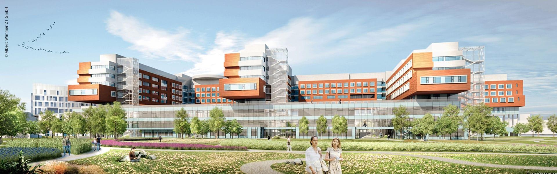 PREVERA Referenz Krankenhaus Nord Wien